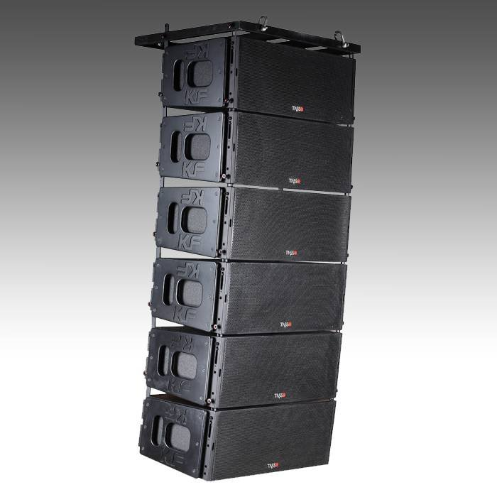 3-way Double 12 Inch Line Array System KF680