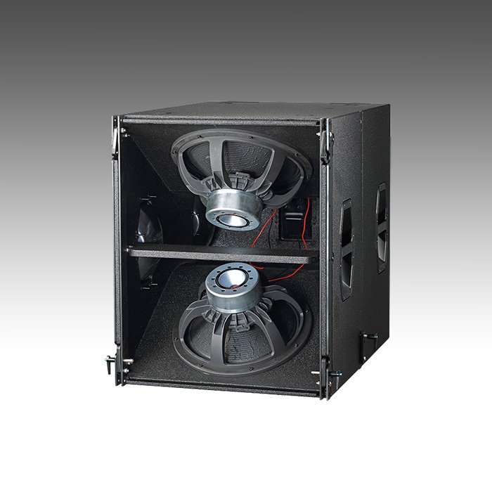 K-TWO Compact dual 8 inch two way sound system