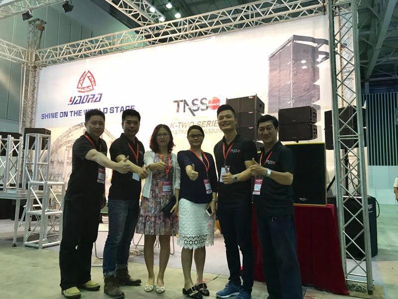 Pro Light & Sound in Vietnam 2017