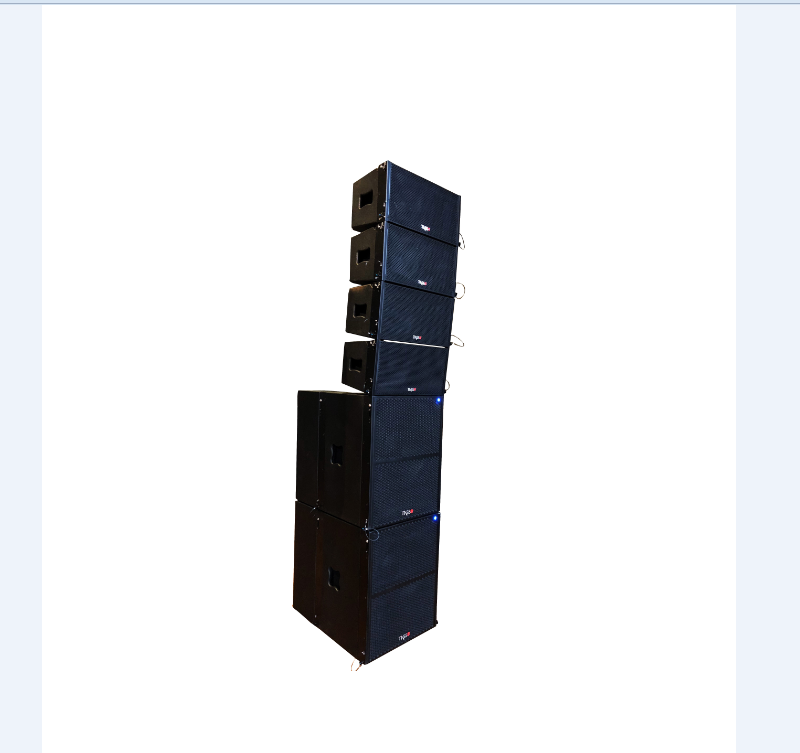 New Launched High Efficient Line Array sound system for T4